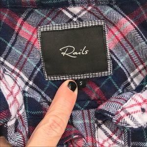 Rails Tops - RAILS Plaid Button Down Shirt Size Small S